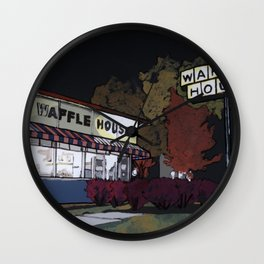 Waffle House Wall Clock