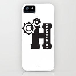 Hephaestus Logo iPhone Case