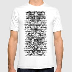 (this)Integrate White SMALL Mens Fitted Tee