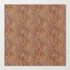 BOA skin (COPPER) Canvas Print