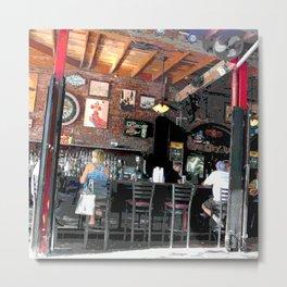 Bar en plein air Metal Print