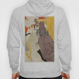 Vintage poster - Englishman at the Club Hoody