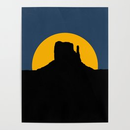 Monument Valley - Left Hand Poster