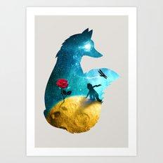 The Most Beautiful Thing (light version) Art Print