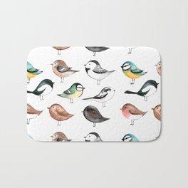 Garden Birds Bath Mat
