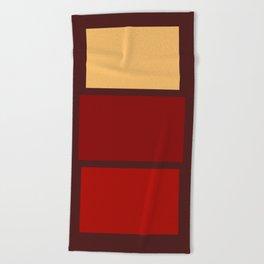 Iconic Painters: Mark Rothko Beach Towel