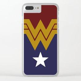 Wonder DC, Woman Clear iPhone Case