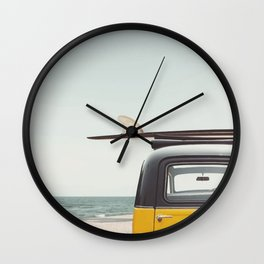 Surfing time Wall Clock