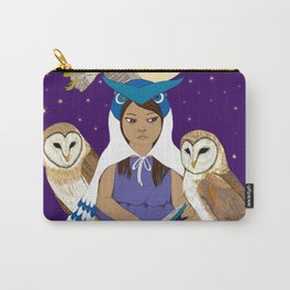 Owl Girl Carry-All Pouch