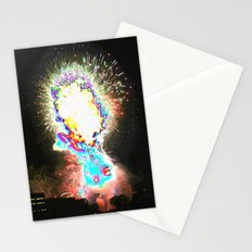 fireworks abstract Stationery Cards