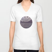 typewriter V-neck T-shirts featuring Typewriter by Jessica Torres Photography