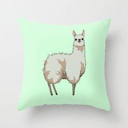 Llama Throw Pillow