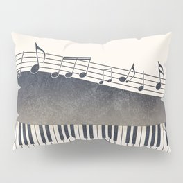 Piano Pillow Sham