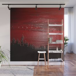 Lacquer Sunset Wall Mural