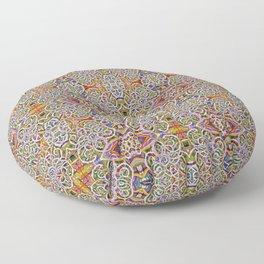 Rites of Spring Ornate Pattern Floor Pillow