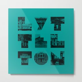 Missing buildings of Lyttelton Metal Print