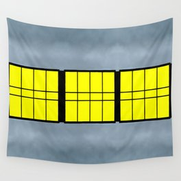 City Windows Wall Tapestry
