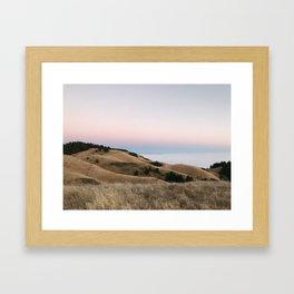 Untitled Sunset #2 Framed Art Print