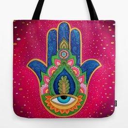 Fatima's hand / Hamsa Tote Bag