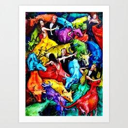 The Ball Art Print