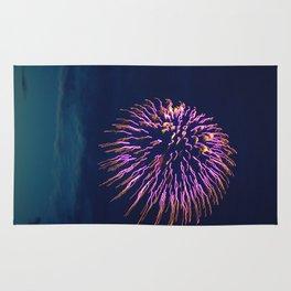Purple Fireworks Rug