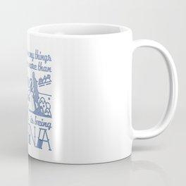 Skiing Nana Coffee Mug