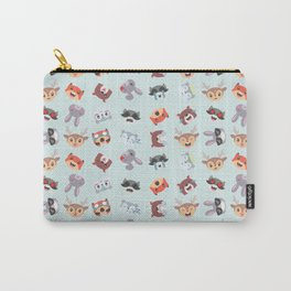 Woodland Emojis Carry-All Pouch