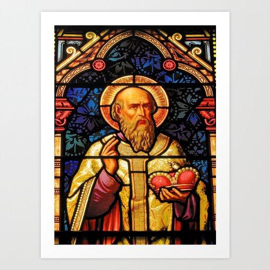 Saintly Glass #2 Art Print