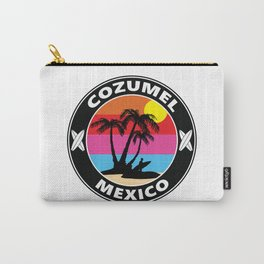 Surf Cozumel Mexico Carry-All Pouch