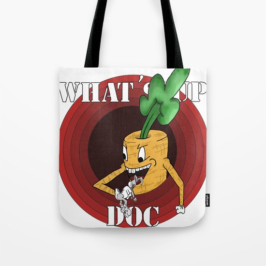 What's Up Doc Tote Bag