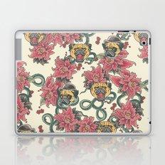 Snake and Pug Laptop & iPad Skin