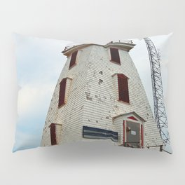 Cape Egmont Lighthouse and Communication Tower Pillow Sham