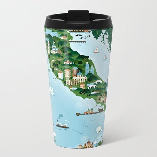Italy Metal Travel Mug