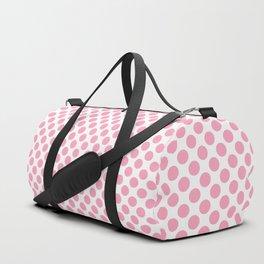 Pink Polka Dots Duffle Bag
