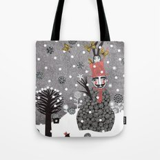 Snow Magician Tote Bag