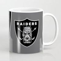 tomb raider Mugs featuring Tusken Raider Nation Pride by Captain_RibMan