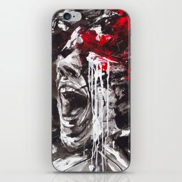 The Pain of Cluster Headache iPhone Skin