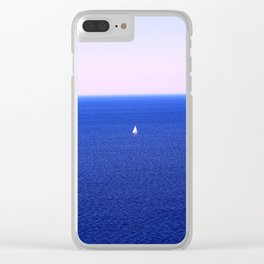 Tobermory Sailboat Clear iPhone Case