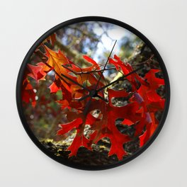 A Touch of Autumn Wall Clock