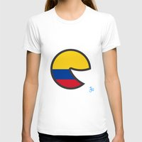 colombia T-shirts featuring Colombia Smile by onejyoo