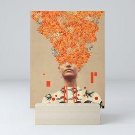 Bird Flight in Autumn Mini Art Print