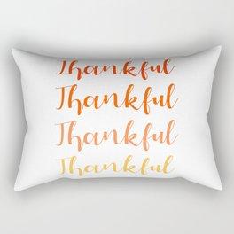 Thankful 2 Rectangular Pillow