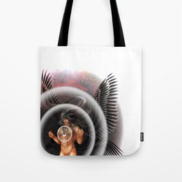 heavenly body - archangel micheal Tote Bag