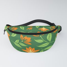Vintage Orange Blossoms Fanny Pack