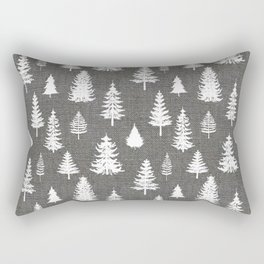Pine Forest Rectangular Pillow