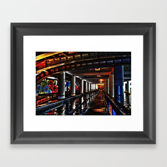 Under Piccadilly Framed Art Print