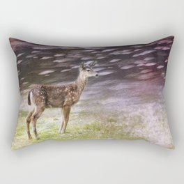 Fawn on the McKenzie, No. 6 Rectangular Pillow