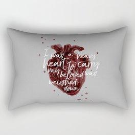 Heavy Heart Rectangular Pillow