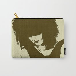 Tribute to Siouxsie Sioux Carry-All Pouch