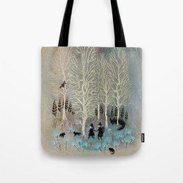 White Woods Tote Bag